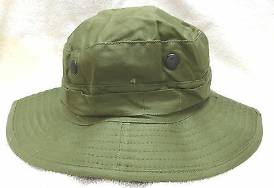 Genuine British Tropical Green Boonie Hat-New (J. Compton, Sons & Webb)