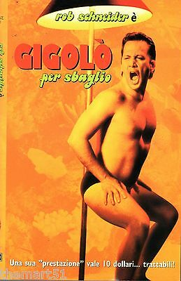 GIGOLò PER SBAGLIO (2000) VHS Buena Vista Home Video ROB SCHNEIDER