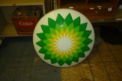 BP Gas Station Lighted Sign 30  inches Across.