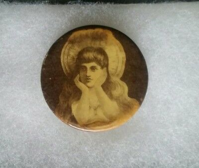 Antique Western Hookers/ Prostitute, Mirror, Erotic Picture