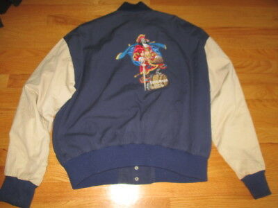 Vintage CAPTAIN MORGAN - Original SPICED RUM Embroidered Button-Down (XL) Jacket