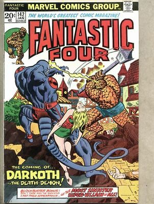 Fantastic Four #142-1974 fn 6.0 Wyatt Wingfoot  1st first appearance of Darkoth
