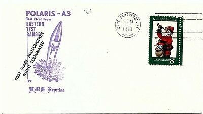 UNITED STATES - 1973 Polaris A3 Test, 1st Stage Malfunction HMS Repulse Cover