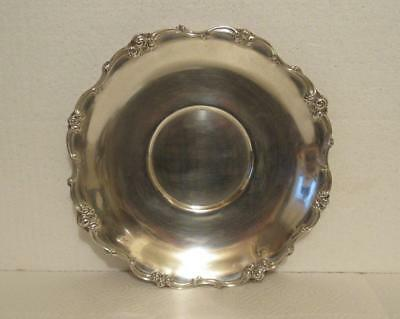"Gorham Solid Sterling Silver 10.5"" Sandwich Platter Tray Melrose 406 g Not Scrap"