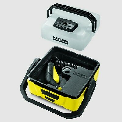 Karcher OC3 Portable Rechargeable Battery Powered Cleaner Jet wash pressure