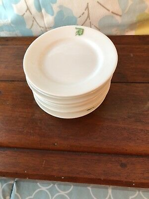 Set Of 8 Antique Old Paris Hard Paste Porcelain Butter Pats Nut Dishes