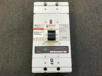 1- Eaton / Cutler-Hammer / Westinghouse, 800A 3 PHASE, 600V MDL3800F FRAME WITH