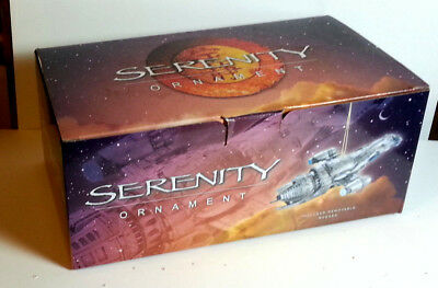 Vintage Firefly/Serenity Firefly Ship Limited Edition Ornament from QMX-Boxed