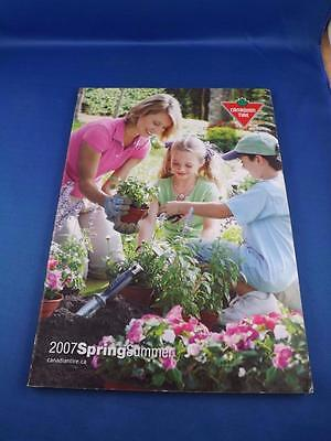 Canadian Tire Catalog 2007 Spring & Summer Bbq Patio Furniture Lights Car Parts