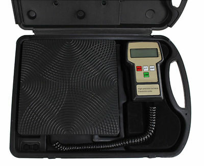 Pro-Charge Electronic Refrigerant Charging Scale with Black Hard Case 100KG