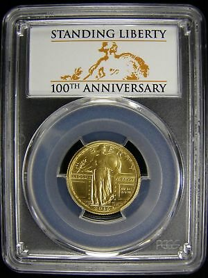 2016-W Standing Liberty Centennial Gold Coin Pcgs Sp70 First Strike @@@