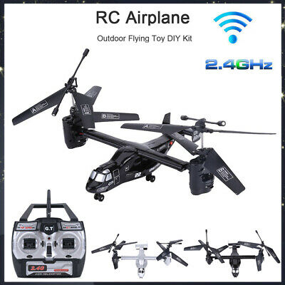 2.4Ghz 4.5CH Remote Control Plane Airplane RC Drone Aircraft Helicopter Toy CO