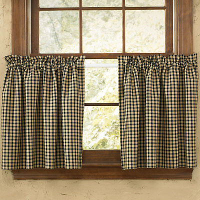Park Designs Star Patch Country Curtain Tiers