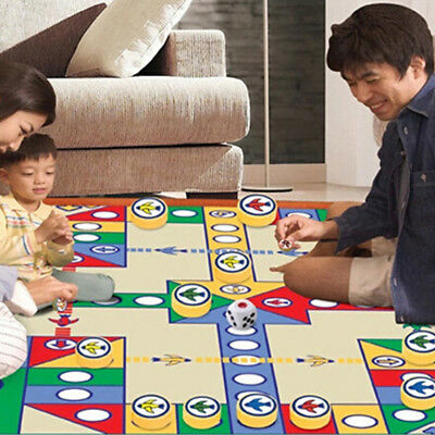 Kids Children Flying Airplane Carpet Flight Chess Play Crawling Activity Mat Rug