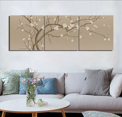 Plum Blossom Tree Modern Art Picture Home Decor Canvas Print Painting W/No Frame
