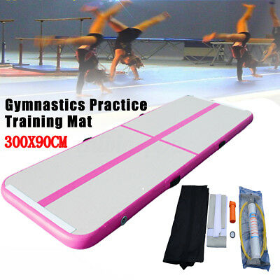 Inflatable Air Roller Home Large 120x60cm Gymnastics Cylinder GYM Gymnastic Beam