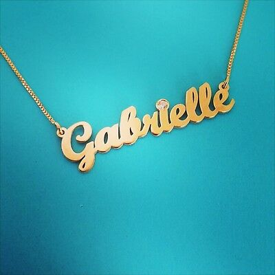 6ad45092527f7 GOLD NAME NECKLACES, gold name necklace, order any name!!! 14 carat 14 k