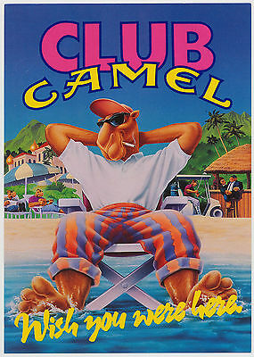 Camel Joe - Club Camel, Wish You Were Here - Camel Cigarettes Advertising