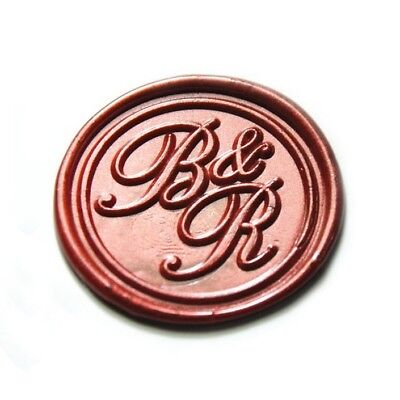 PERSONALIZED WEDDING MONOGRAM Wax Seal Stamp Custom Sealing