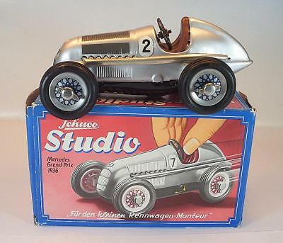 Schuco Blech Studio 1050 Mercedes Silberpfeil Grand Prix 1936 in O-Box #1308
