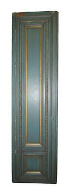 Tall French Provincial Blue & Gold Door
