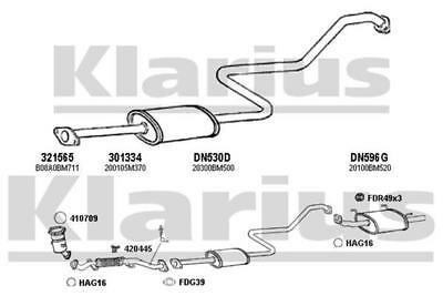 EXDN3058fk EXHAUST CENTRE SILENCER MIDDLE BOX Fitting kit