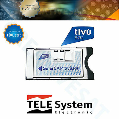 TivuSat Telesystem SmarCam HD CAM Only ( No Card ) – Brand New