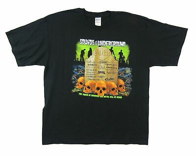 Sounds Of Underground 2005 Metal Tour T Shirt New Official Lamb Of God Opeth