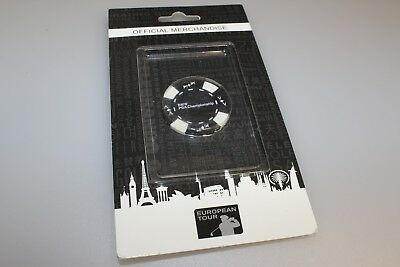 BMW PGA Championship Black & White Golf European Tour Poker Chip Ball Marker New