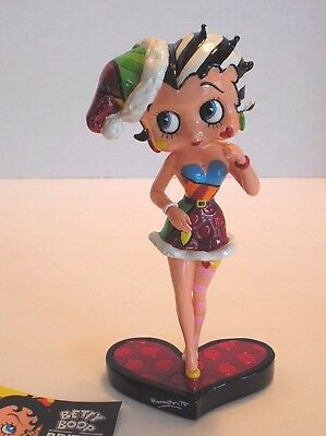 BRITTO - BETTY BOOP CHRISTMAS FIGURINE - 6.5 inches tall - 4046443 - NIB