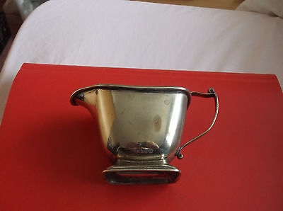 Not  Silver    Stamped Epns  Sauce Boat