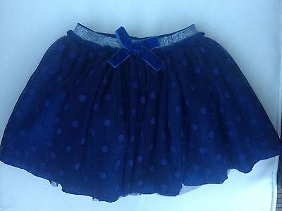 Gorgeous shimmery Blue Tutu Party skirt 9-12m Mothercare