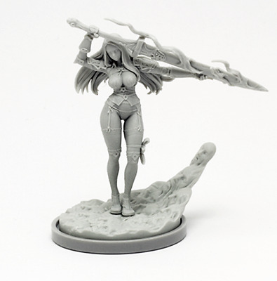 30mm Resin Kingdom Death Knight Variant Unpainted Unassembled WH300