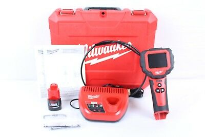 Milwaukee 2313-20 M Spector 360 12V Rotating Inspection Scope Kit with Hard Case