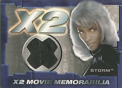 "X-Men United X2 - STITCH VARIANT ""Storm"" Memorabilia Costume Card"