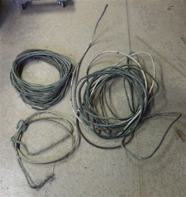 Over 30 Lbs Copper Lightning Rod Cable Grounding Vintage Architectural Salvage