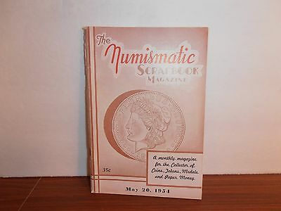 The Numismatic Scrapbook Magazine May 20, 1954 Monthly Coin Collecting