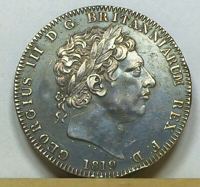 Great Britain Crown 1819 Extremely Fine