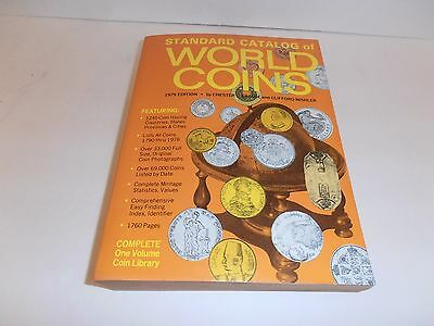 Standard Catalog of World Coins 1979 Edition by Krause & Mishler