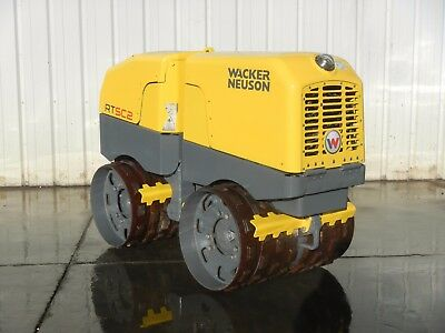 2012 Wacker Rt 82-Sc2 Drum Roller Trench Compactor Tamper With Combo Drums