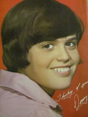 Donny Osmond, The Osmonds Brothers, Alan Osmond, Double Full Page Vintage Pinup