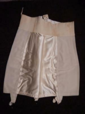 Vintage 50's-Women Girdle--Size 29-Rayon-Cotton