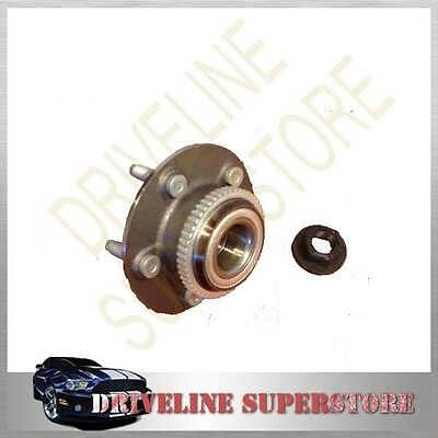 FORD FALCON AU BA BF 1998-2007 A FRONT WHEEL BEARING HUB FOR with New Lock Nuts