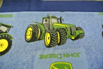 John Deere Tractors Farm Baby Blanket Double Sided Can Be Personalized 28x44