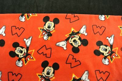 Mickey Mouse Baby Blanket Double Sided Can Be Personalized 28x44
