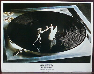 Twiggy The Boy Friend ORIGINAL 70s Lobby Card Movie Musical Vinyl Record Image