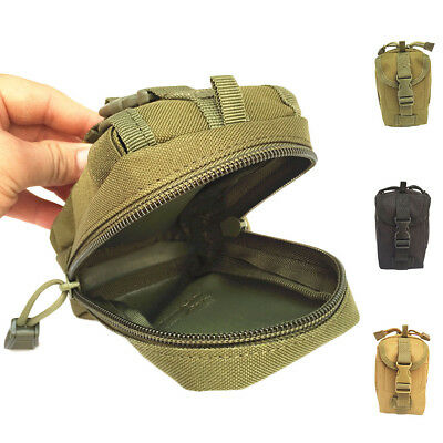Outdoor Tactical MOLLE Pouch Sports Oxford Cloth Waist Bag Hunting Climbing Bag