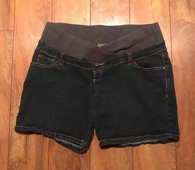 Thyme Maternity Jean Shorts Size M