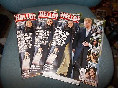 Uk Hello! Magazine #1511 - The Magic Of Meghan - The Nation Celebrates -11/12/17