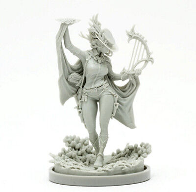 30mm Resin Kingdom Death Bard Unpainted Unassembled WH292
